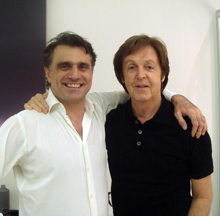 Sir Paul McCartney-and-Lino